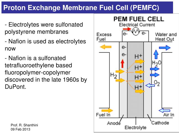 Proton Exchange Membrane Fuel Cell (PEMFC)