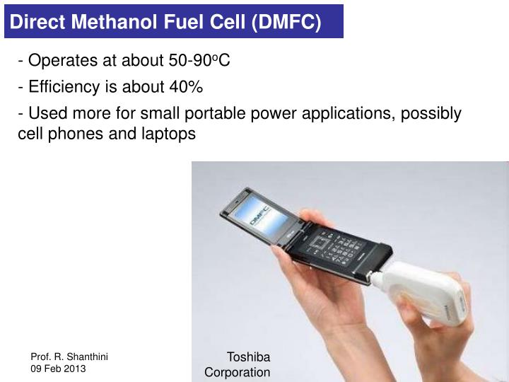 Direct Methanol Fuel Cell (DMFC)