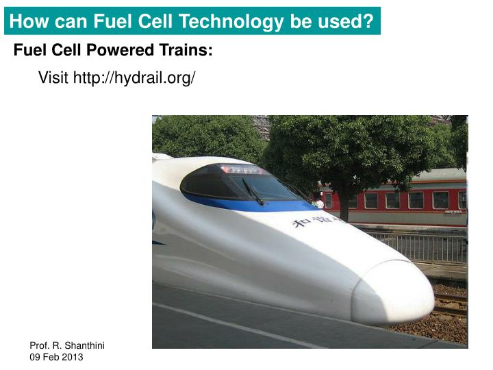 How can Fuel Cell Technology be used?