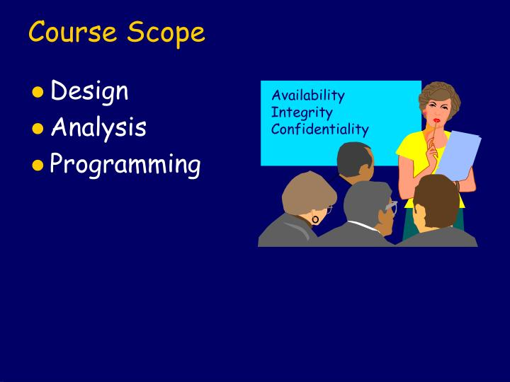 Course Scope