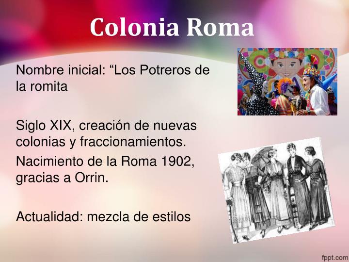 Colonia Roma