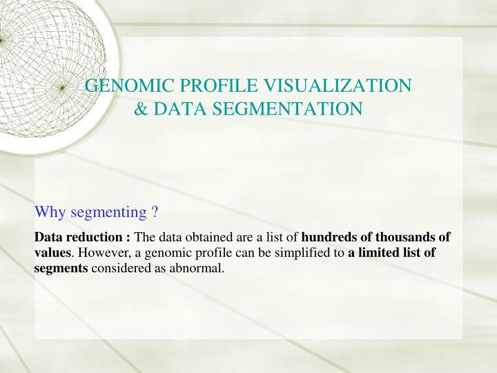 GENOMIC PROFILE VISUALIZATION