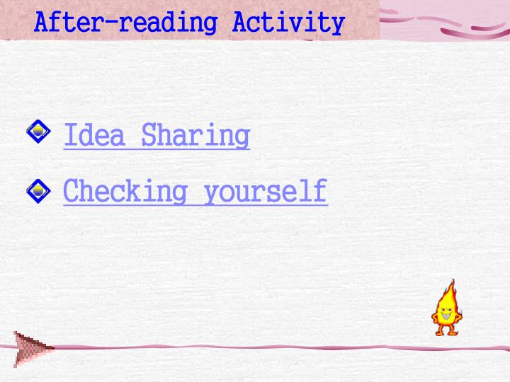 After-reading Activity