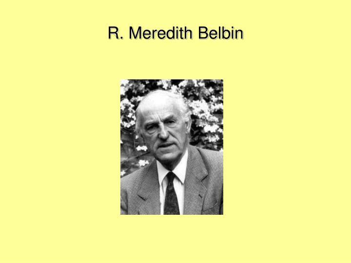R. Meredith Belbin