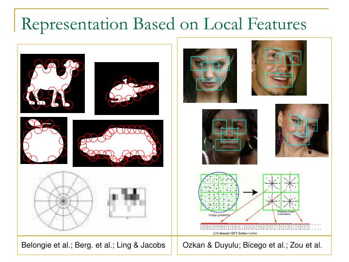 Representation Based on Local Features