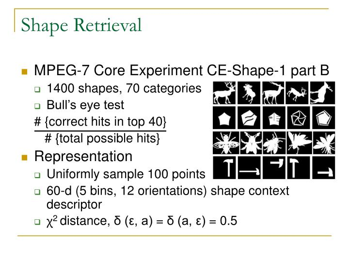 Shape Retrieval