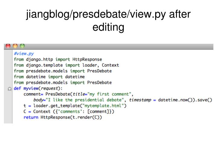 jiangblog/presdebate/view.py after editing