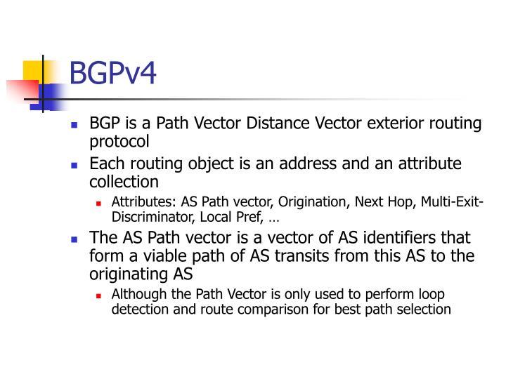BGPv4