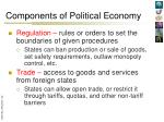 components of political economy6