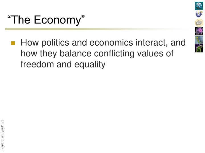 """""""The Economy"""""""
