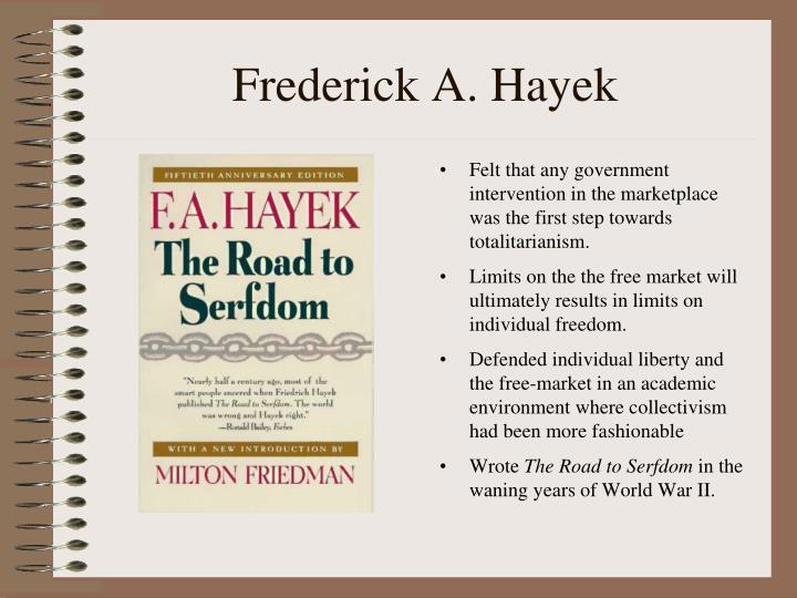 Frederick A. Hayek