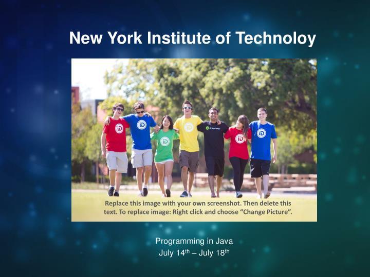 New York Institute of