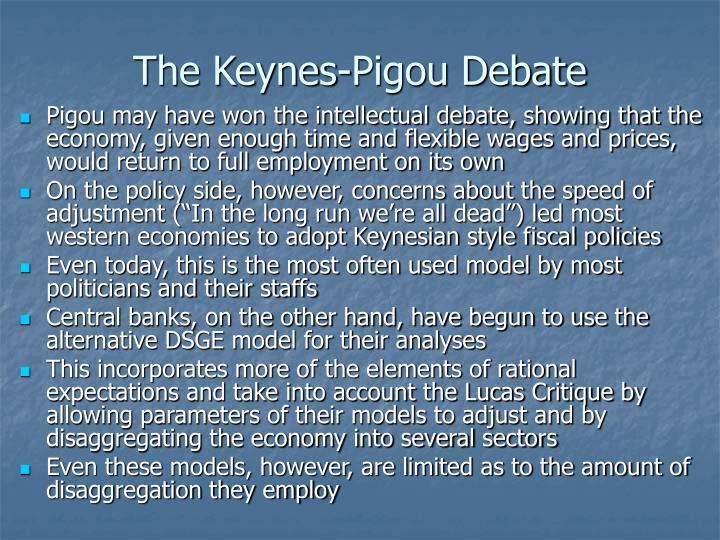 The Keynes-Pigou Debate