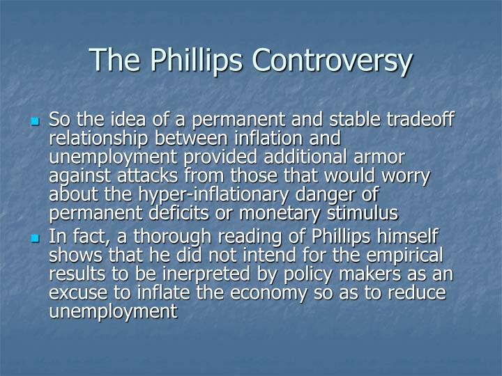 The Phillips Controversy