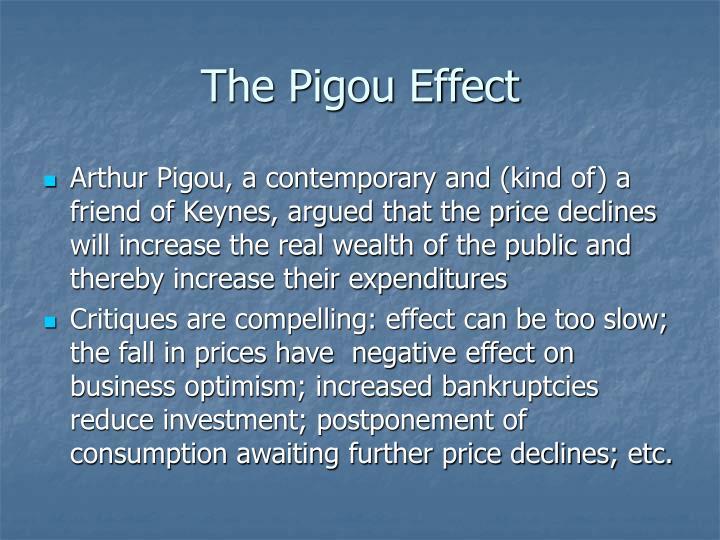 The Pigou Effect