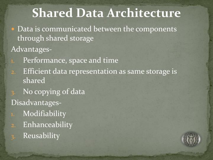 Shared Data Architecture