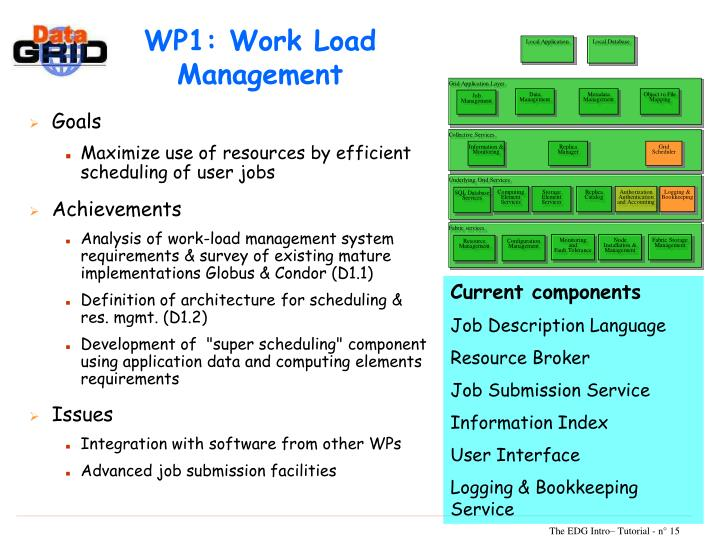 WP1: Work Load