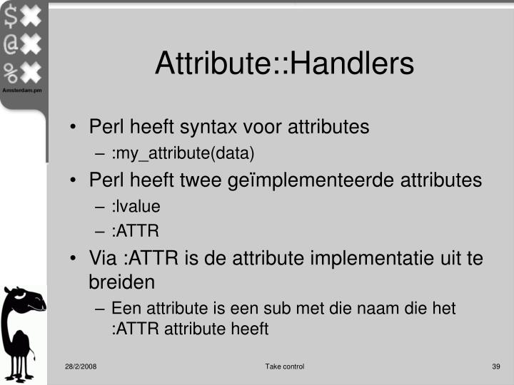 Attribute::Handlers