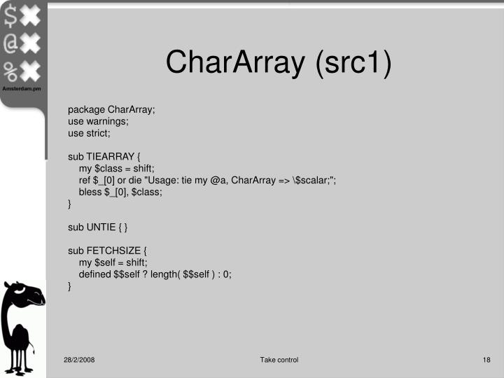 CharArray (src1)