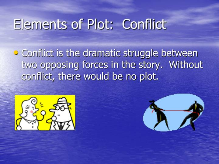 Elements of Plot:  Conflict