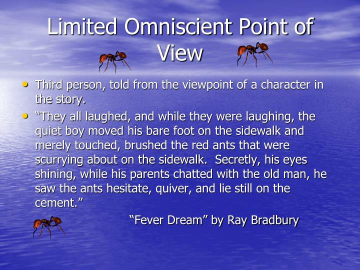 Limited Omniscient Point of View