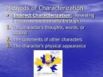methods of characterization1