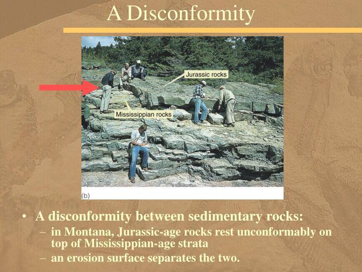 A Disconformity