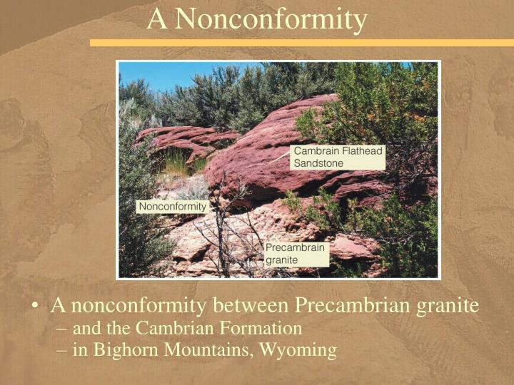 A Nonconformity