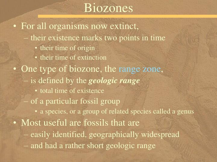 Biozones