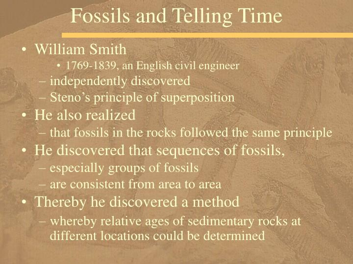 Fossils and Telling Time