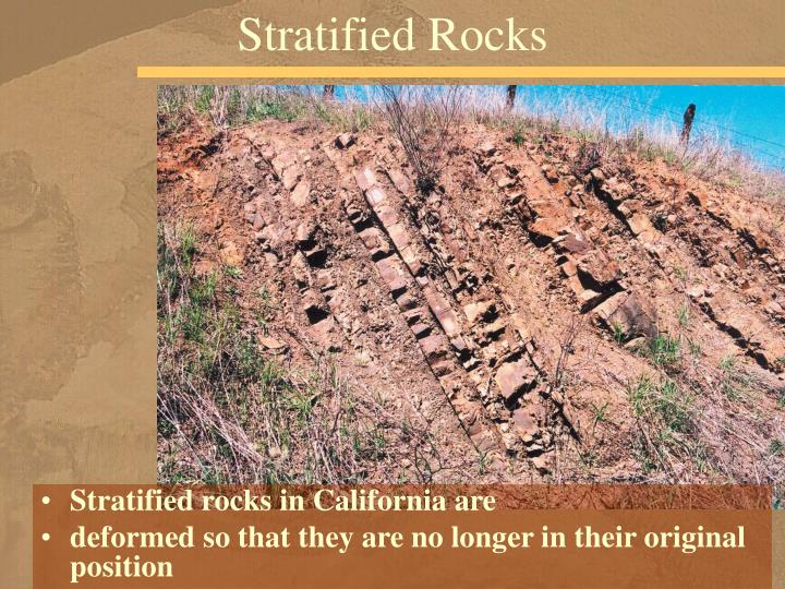 Stratified Rocks