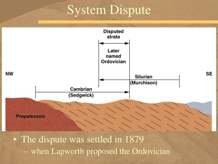 System Dispute