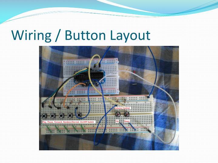 Wiring / Button Layout