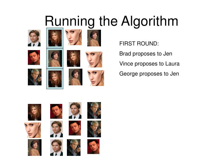 Running the Algorithm