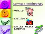 factores extr nsecos