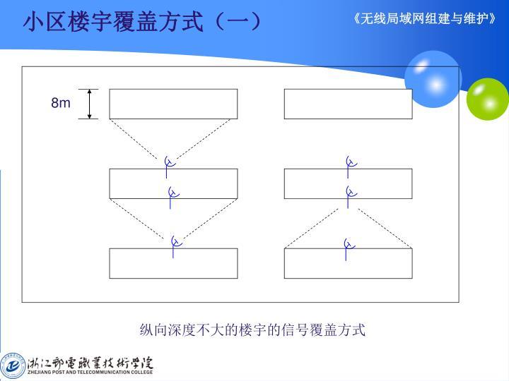 小区楼宇覆盖方式(一)