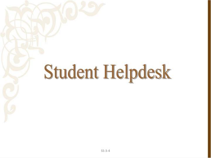 Student Helpdesk