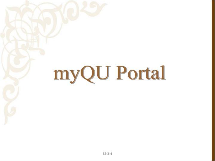 myQU Portal