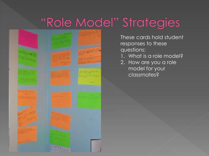 """Role Model"" Strategies"