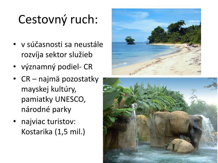 Cestovný ruch: