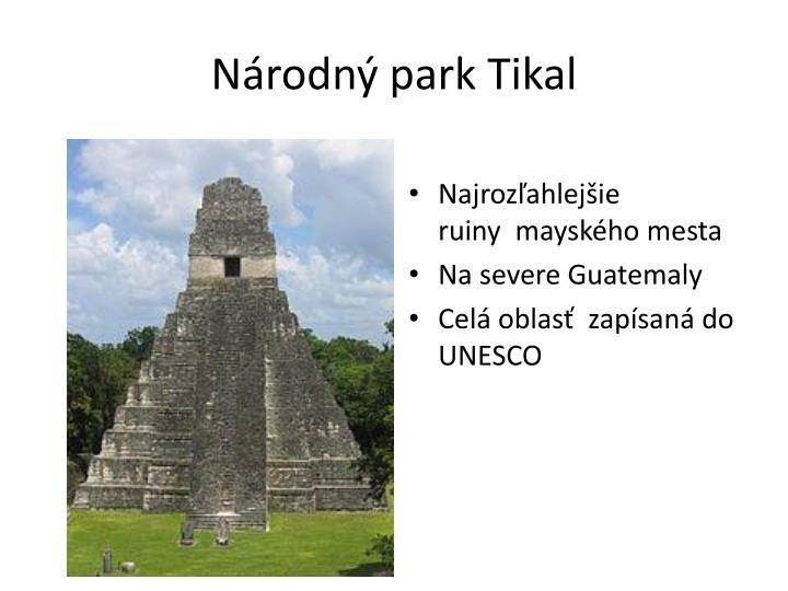 Národný park Tikal