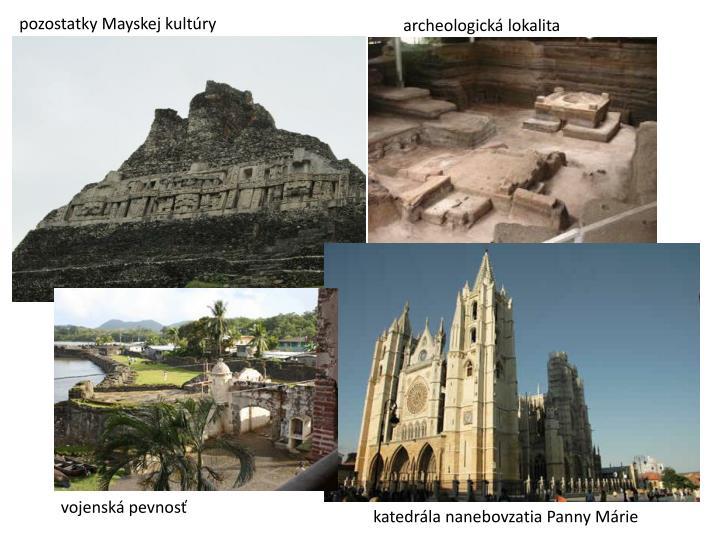 pozostatky Mayskej kultúry