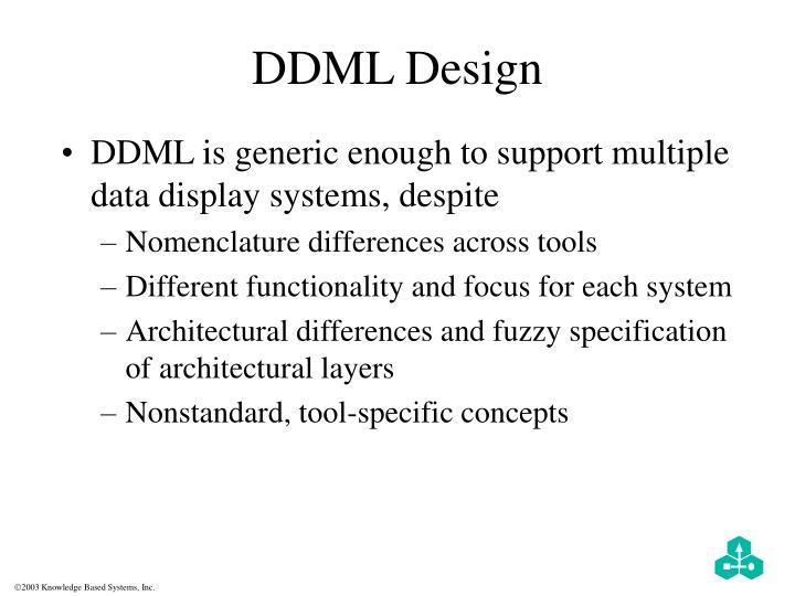 DDML Design