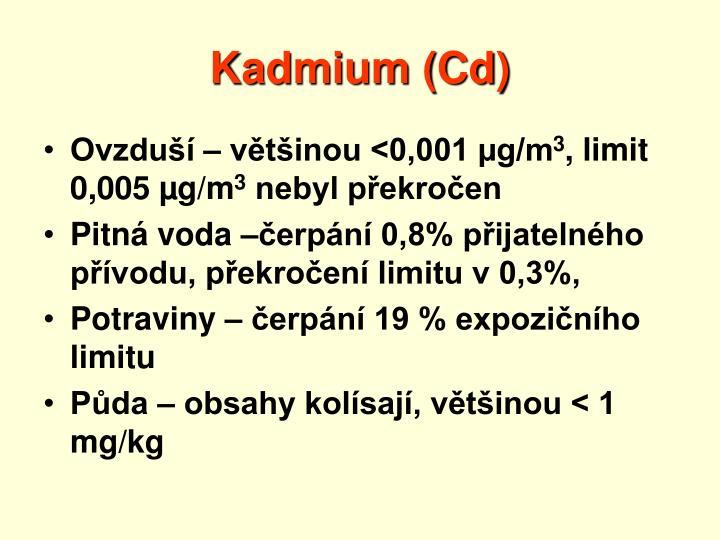 Kadmium (Cd)