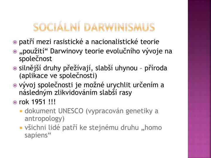 Sociální darwinismus
