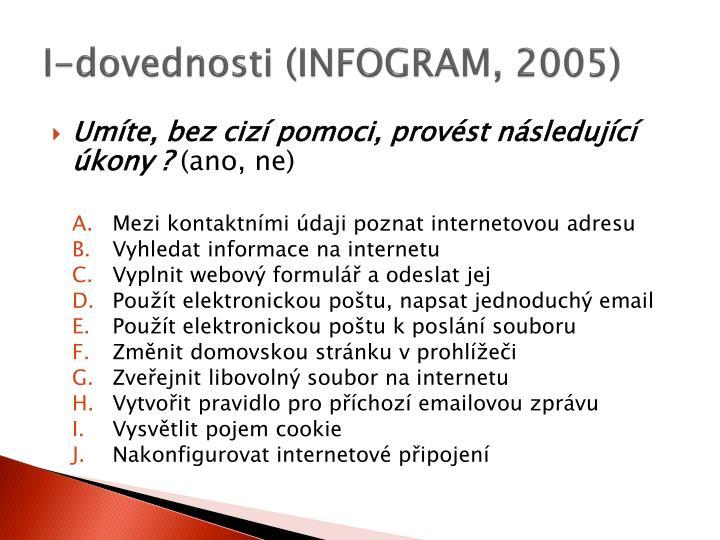 I-dovednosti (INFOGRAM, 2005)