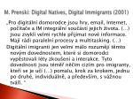 m prenski digital natives digital immigrants 2001