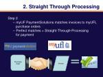 2 straight through processing