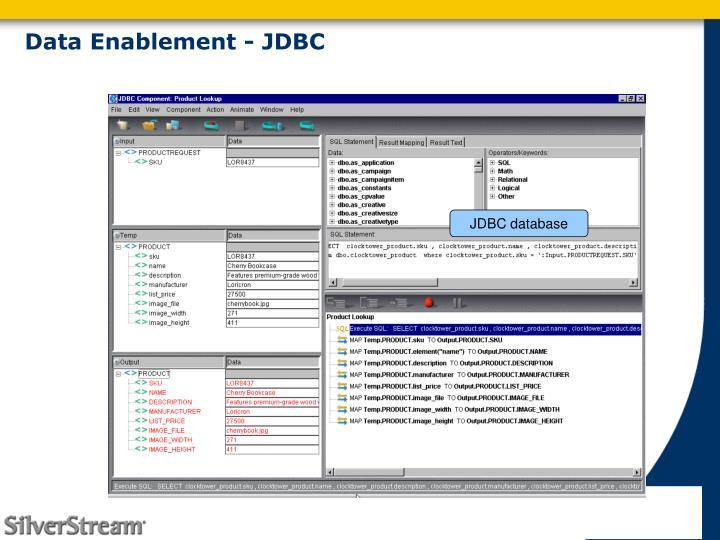 Data Enablement - JDBC
