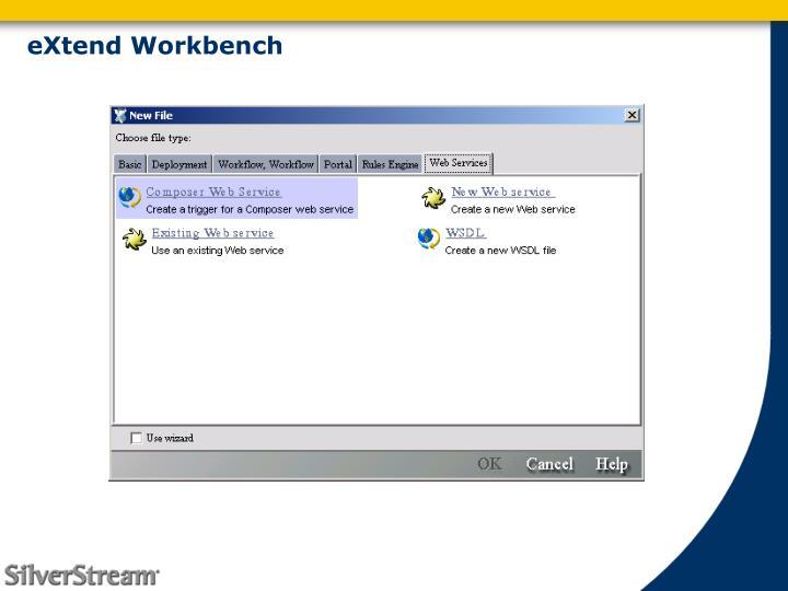 eXtend Workbench